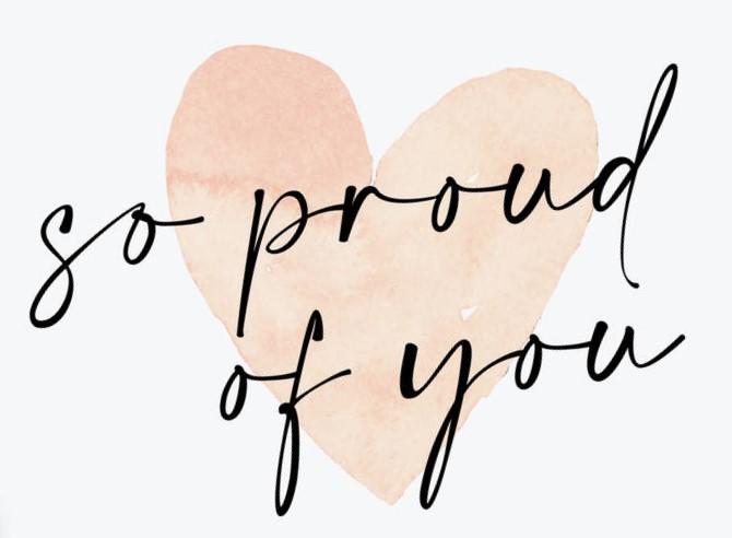 Proud heartsupport